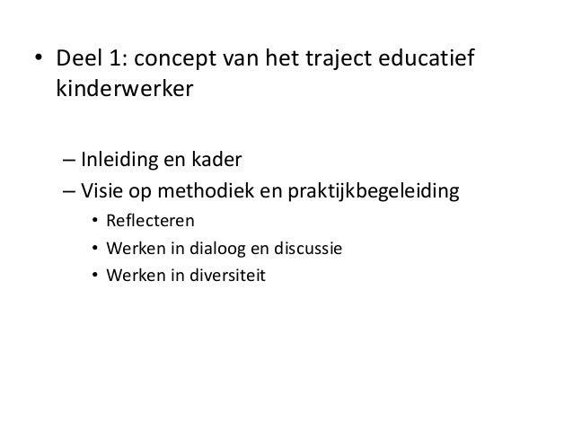 Overzicht syllabus beroepspraktijk 1 Slide 2