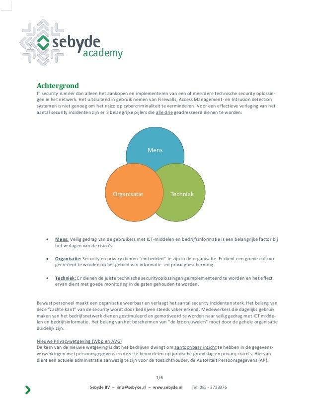 Overzicht workshops sebyde academy Slide 2