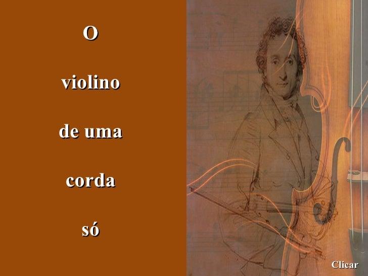 O violino de uma corda só Clicar