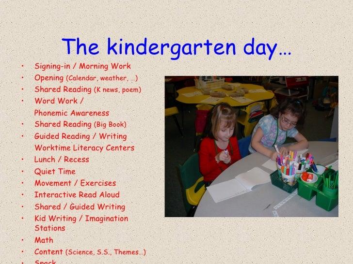 Kindergarten Calendar Powerpoint : Ov kindergarten orientation powerpoint