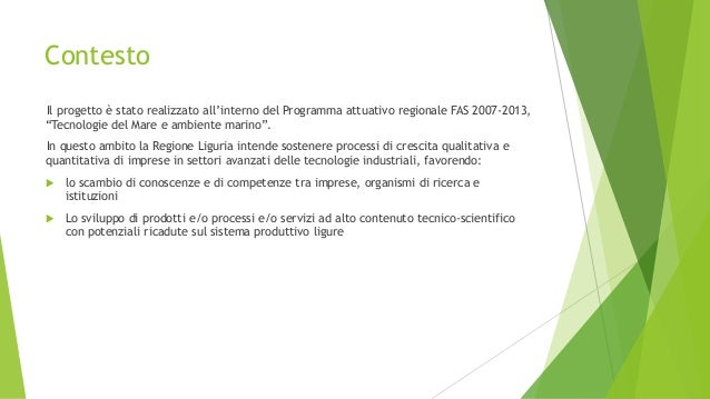 Progetto OVMETER - Ostreopsis oVata meter -  Slide 3