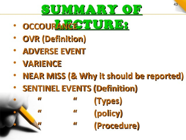 sentinal event It describes the sentinel event in addition to explaining the roles of personnel present during the event the paper further analyses the obstacles that may slow down efficient relations among the personnel present during the sentinel event.