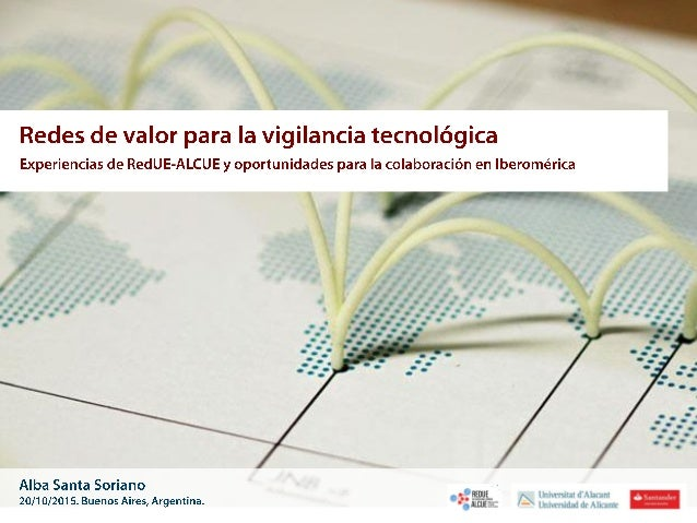 Transferencia conocimiento Iberoamérica Internet El Observatorio: www.ovtt.org