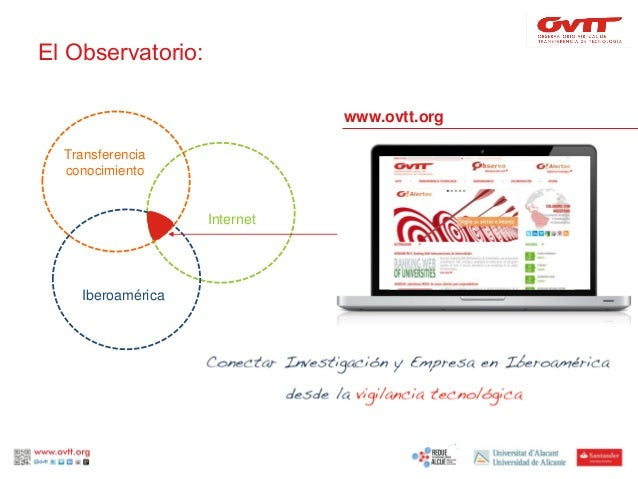 III Congreso Internacional RedUE-ALCUE: redes de valor para la vigilancia tecnológica Slide 2