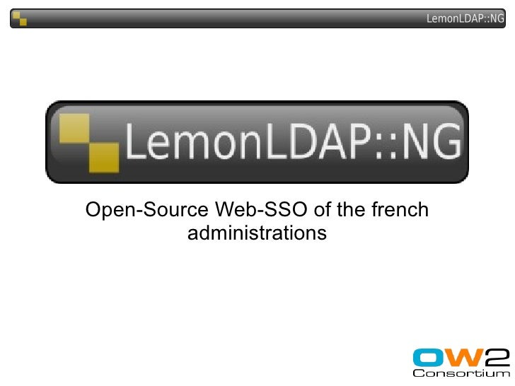 Open-Source Web-SSO of the french          administrations