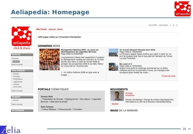 15 Aeliapedia: Homepage