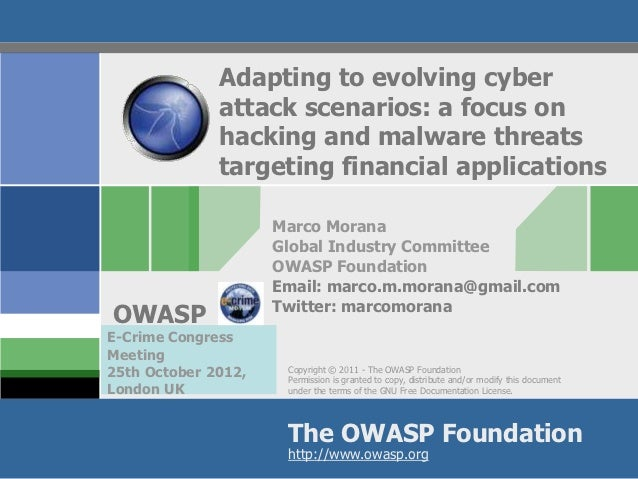 Adapting to evolving cyber              attack scenarios: a focus on              hacking and malware threats             ...