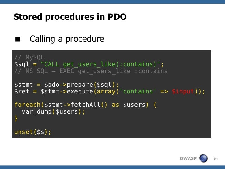 SQL Injection: complete walkthrough (not only) for PHP