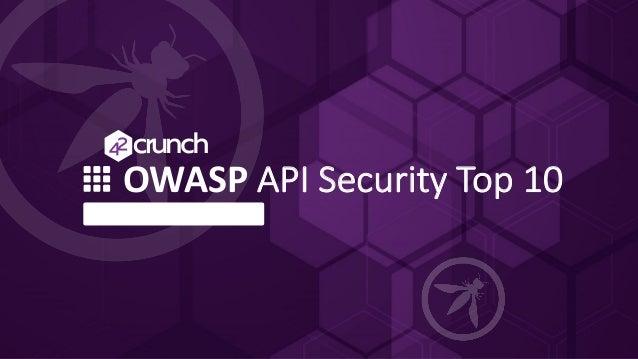 OWASP API Security Top 10