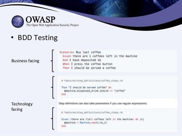 BDD Mobile Security Testing (OWASP AppSec Bucharest 2017)
