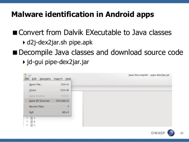 Android reverse engineering: understanding third-party applications  …