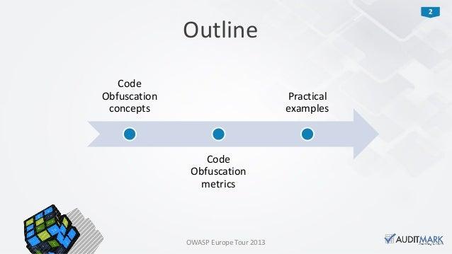 Protecting JavaScript source code using obfuscation - OWASP Europe Tour 2013 Lisbon Slide 2