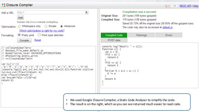 Protecting JavaScript source code using obfuscation - OWASP Europe To…