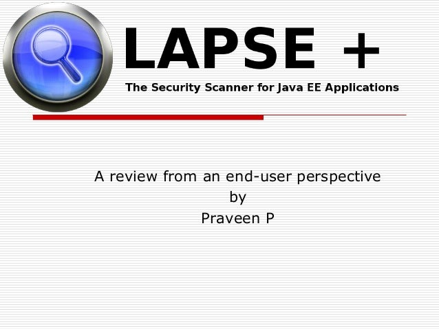 A review from an end-user perspectivebyPraveen P