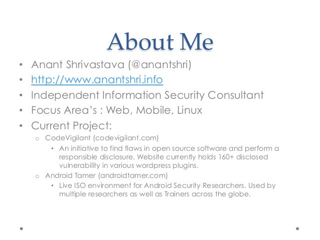 Owasp Mobile Risk Series : M3 : Insufficient Transport Layer Protection Slide 2