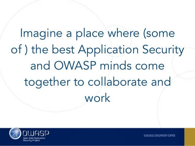 Owasp summit 2017  Slide 3