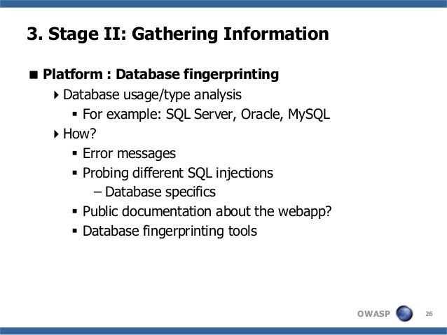 database and information gathering techniques Simple and valuable technique that can aid your market research  the major  thing marketers are going to gain is the information they  you should gather it  and build a database that can easily be browsed or searched.