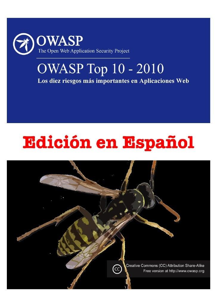 O                                Acerca  de  OWASP   Prefacio                                                   ...
