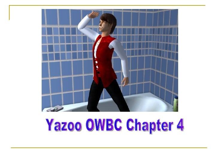 Yazoo OWBC Chapter 4