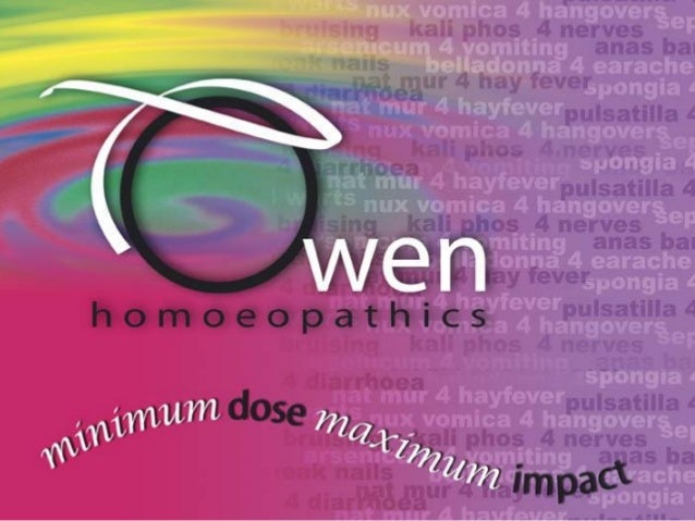 Introducing Owen homoeopathics