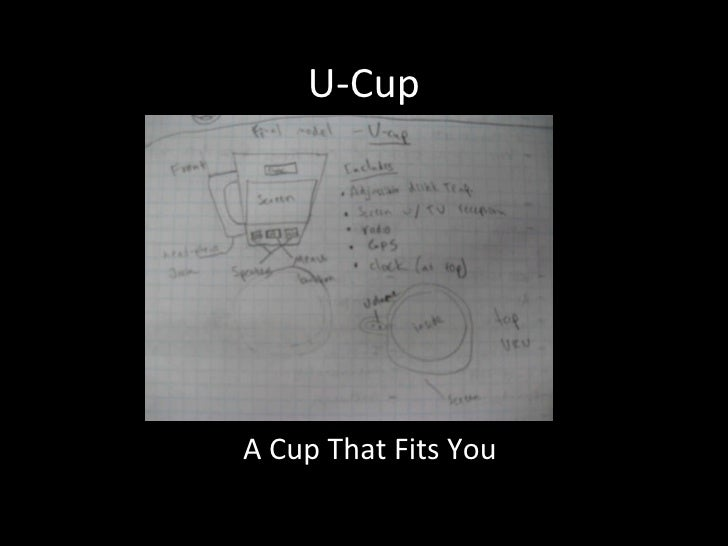 U-Cup A Cup That Fits You