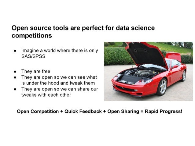 Open Source Tools & Data Science Competitions