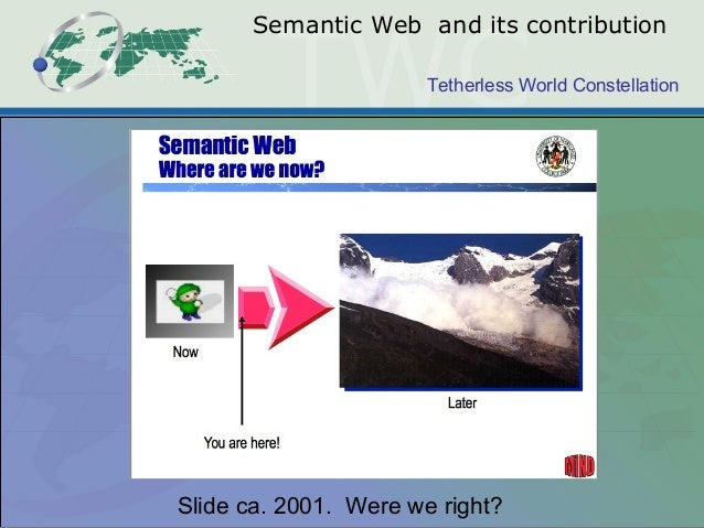 On Beyond OWL: challenges for ontologies on the Web Slide 2