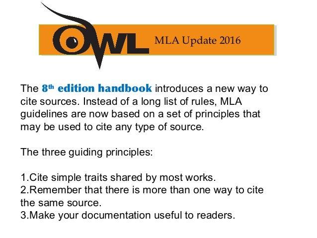 owl purdue mla format