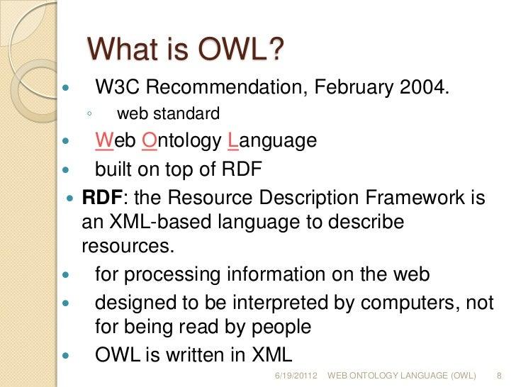 Owl Representing Information Using The Web Ontology Language Pdf