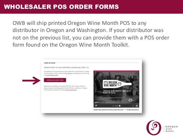 Oregon Wine Month Webinar