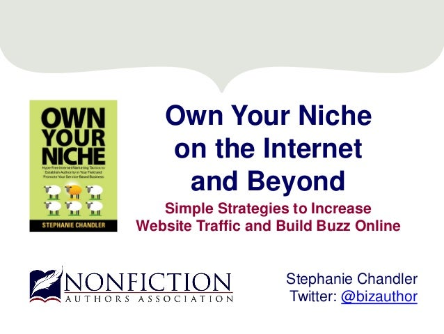 Own Your Niche on the Internet and Beyond Simple Strategies to Increase Website Traffic and Build Buzz Online Stephanie Ch...