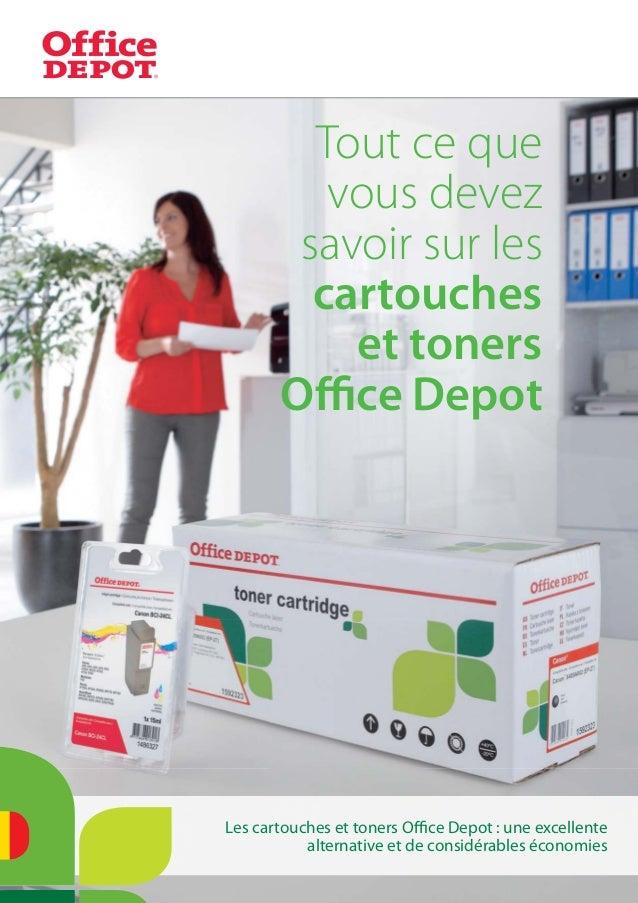 Tout ce quevous devezsavoir sur lescartoucheset tonersOffice DepotLes cartouches et toners Office Depot : une excellentealtern...