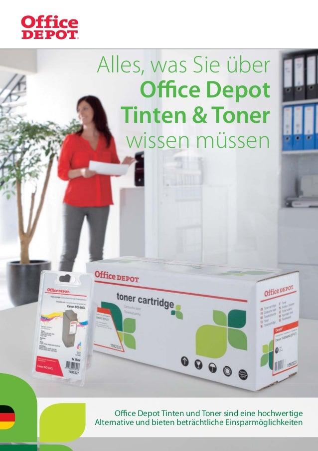 Office Depot Tinten und Toner sind eine hochwertigeAlternative und bieten beträchtliche EinsparmöglichkeitenAlles, was Sie ü...