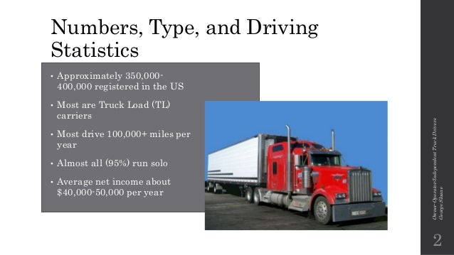 average pay per mile for owner operator truck drivers