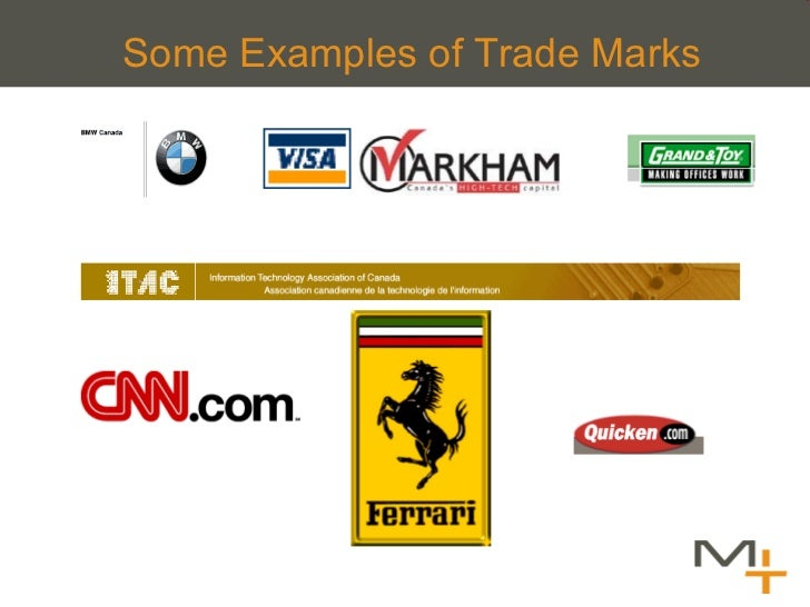 Some Examples of Trade Marks