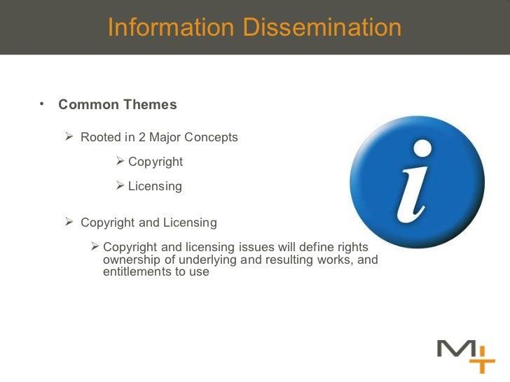 <ul><li>Common Themes </li></ul><ul><ul><li>Rooted in 2 Major Concepts </li></ul></ul><ul><ul><ul><ul><li>Copyright  </li>...