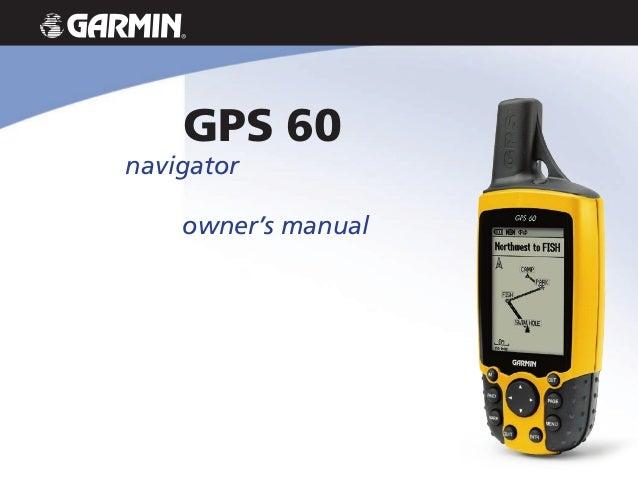 Navigator Owners Manual Gps  Garmin