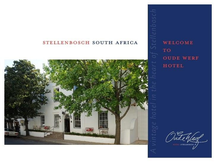 A vintage hotel in the heart of Stellenboschstellenbosch south africa                                                   we...