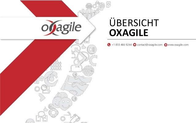 ÜBERSICHT OXAGILE +1 855 466 9244 contact@oxagile.com www.oxagile.com