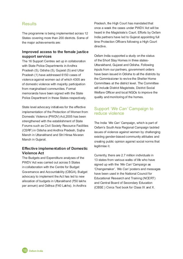 Annual Report 2011 17 New Strategy Takes Root POLITICAL EMPOWERMENT OF WOMEN The Context • Currently, there are 58 (11%) w...