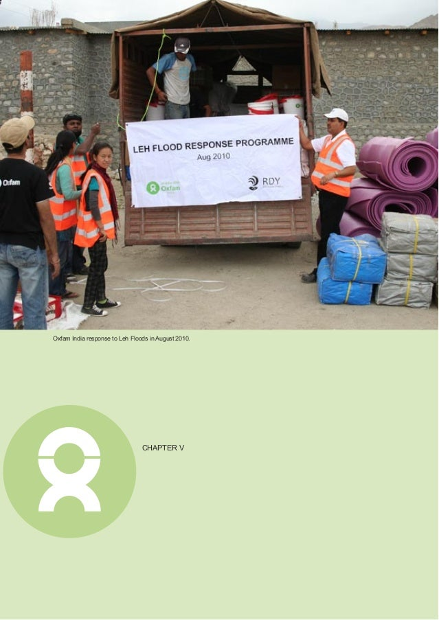 Annual Report 2011 25 New Strategy Takes Root The Humanitarian Response and Disaster Risk Reduction (DRR) strategy of Oxfa...