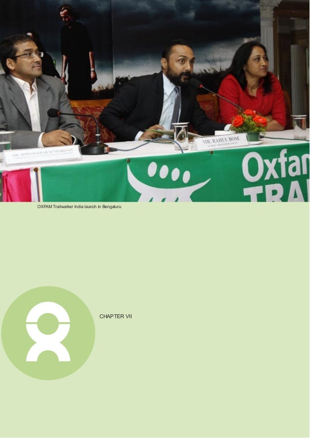 Annual Report 2011 33 New Strategy Takes Root Oxfam India, since its inception, has made huge efforts to raise funds in In...