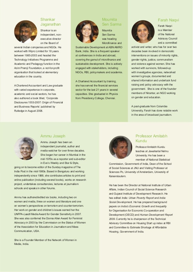 Oxfam India40 Governance Philosophy The governance philosophy that underlies Oxfam India is based on five key principles: 1...