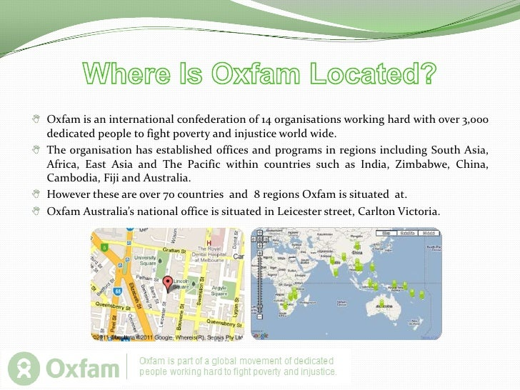 In 1992 the Australian Freedom from Hunger Campaign and Community Aid Abroad merged to became Oxfam.  Oxfam Australia is c...