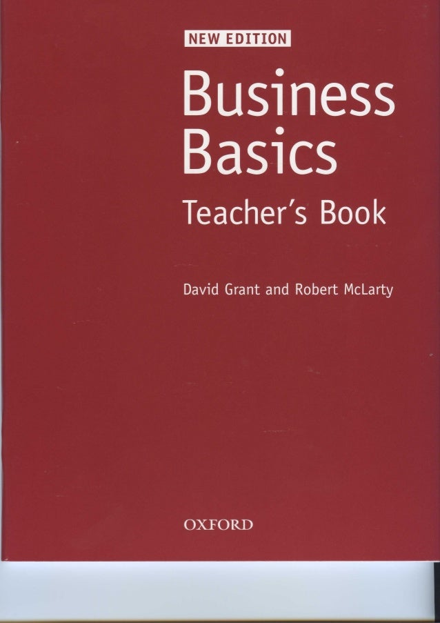 Business basics teachers book new edition business bas1cs teachers book david grant and robert mclarty fandeluxe Gallery