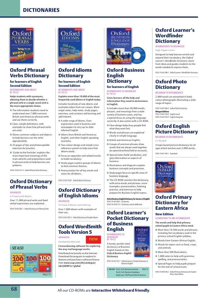 Oxford Idioms And Phrasal Verbs Advanced Pdf Free Download Oxford