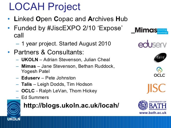 Locah Project Show and Tell Slide 2