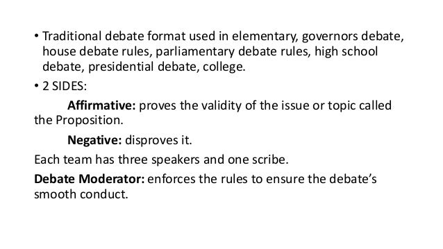 Oxford oregon debate for First speaker debate template