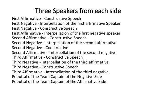 Oxford oregon debate. Classroom Debate Format
