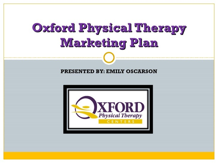 Op physical therapy clinic business plan